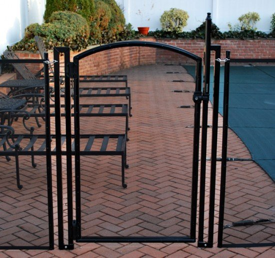 Arched Self-Closing Pool Gate