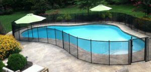 Life Saver Removable Mesh Pool Fences