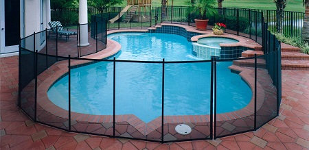 mesh pool fence for pets in San Diego, CA