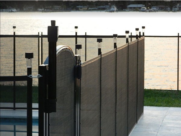 dock fence installed in San Diego