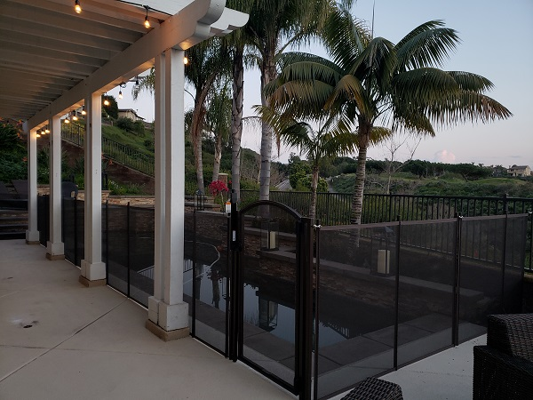 Life Saver Pool Fence installation in Carlsbad, CA